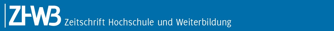 Zeitschrift Hochschule und Weiterbildung (ZHWB)